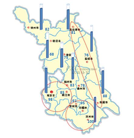 【hr分享】2013年江苏省薪酬地图